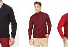 Eleganckie swetry męskie 2020