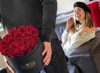 Piękne kwiaty na Dzień Kobiet i Walentynki